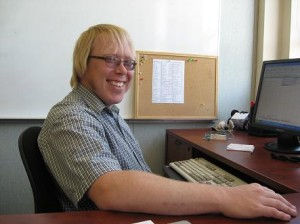 Employ-Ability Participant and Neil Squire Society Employee Jason