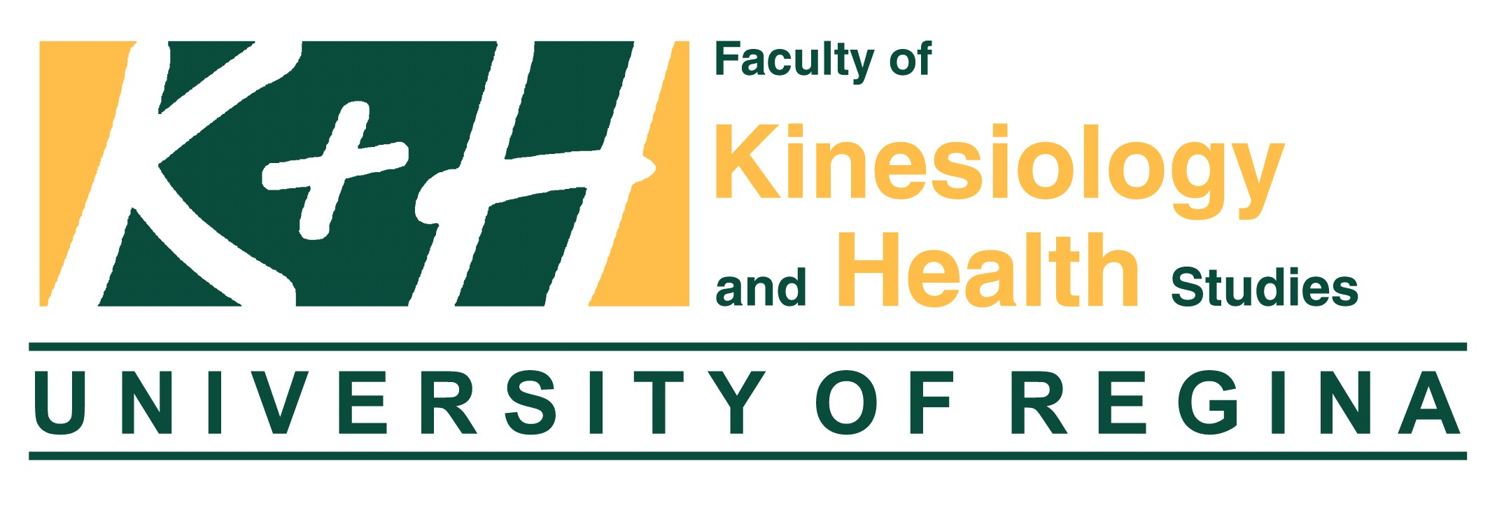The University of Regina – Faculty of Kinesiology and Health Studies for hosting the Job Fair Logo