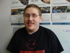 Computer Comfort Volunteer Matthew