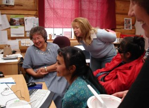 Employ-Ability Participants at the Footprints Centre in Penticton