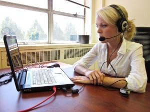 Helping clients through Distance Computer Comfort