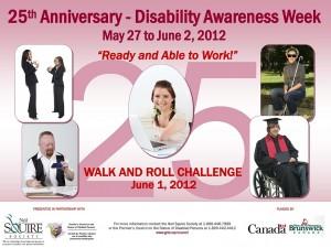 Disability Awareness Week Poster