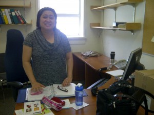 Maria, participant from Prairie Regional Office
