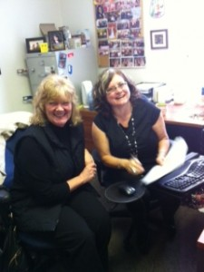 Joanne and Prairie Regional Manager, Nikki Langdon