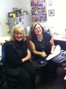 Joanne and Prairie Regional Manager, Nikki Langdon