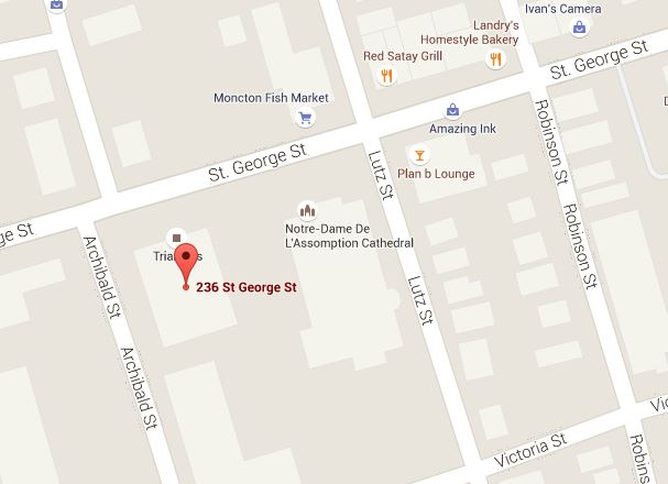 236 St. George Street Location Map