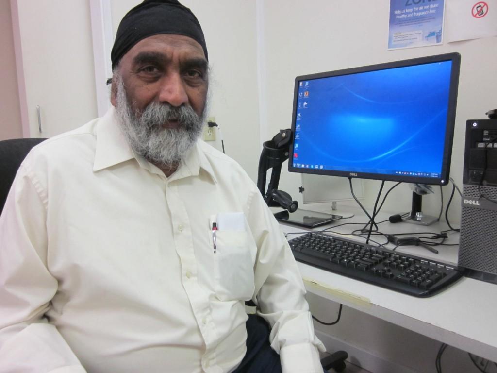 Computer Comfort Participant, Bhajan