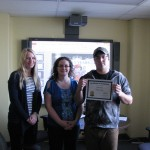 Employ-Abilty Participant, Zach poses with his instructors at his graduation