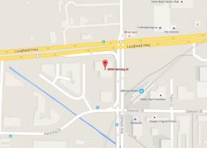 3999 Henning Drive Location Map