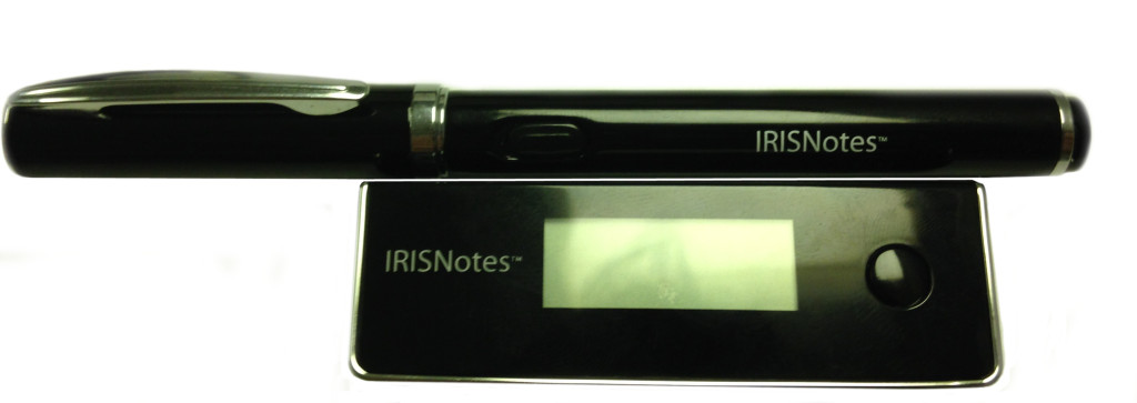 closeup of an IRISNotes 2