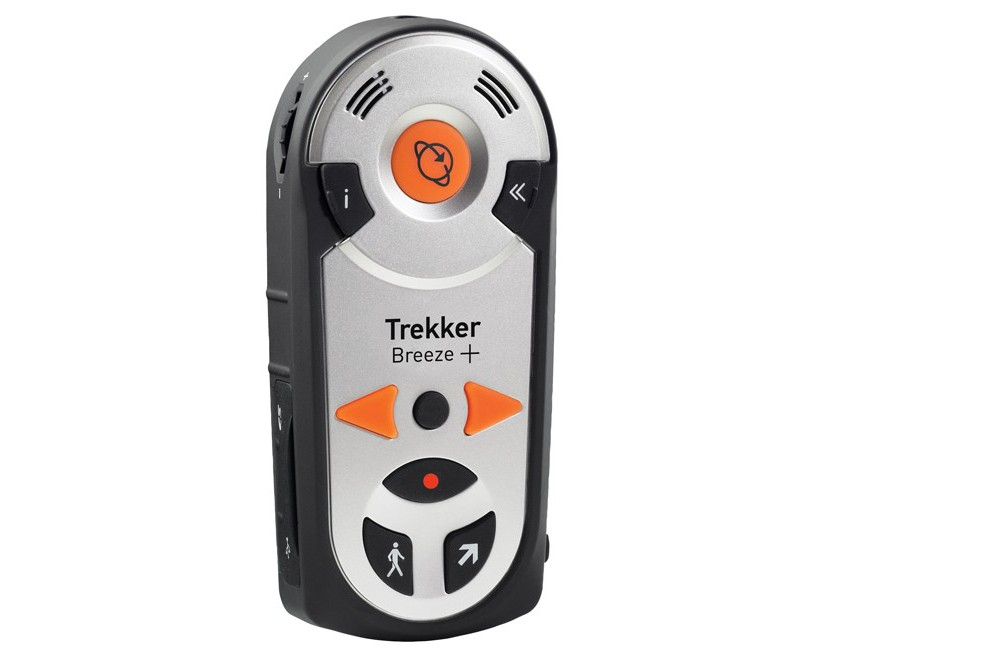 the Trekker Breeze+ Talking GPS