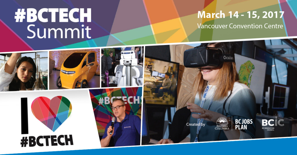 #BCTECH Summit, March 14-15, 2017