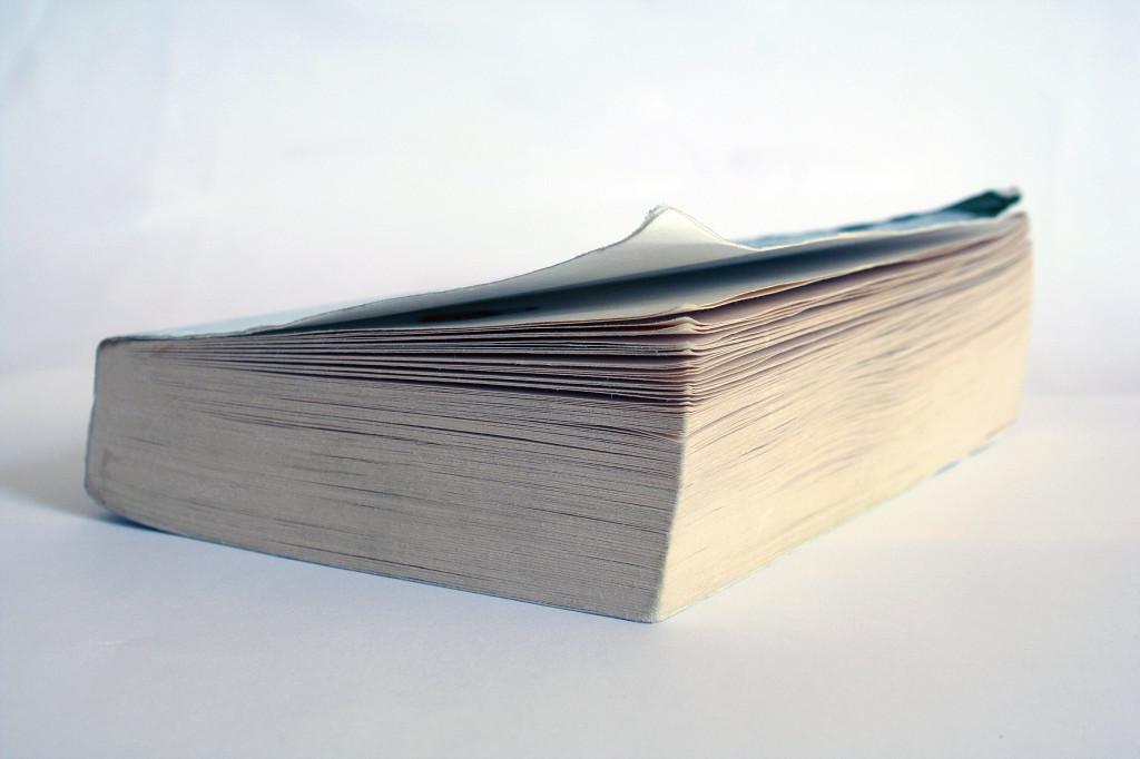 a paperback book