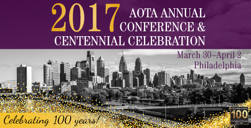 AOTA Conference poster