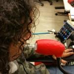 Omar testing out LipSync