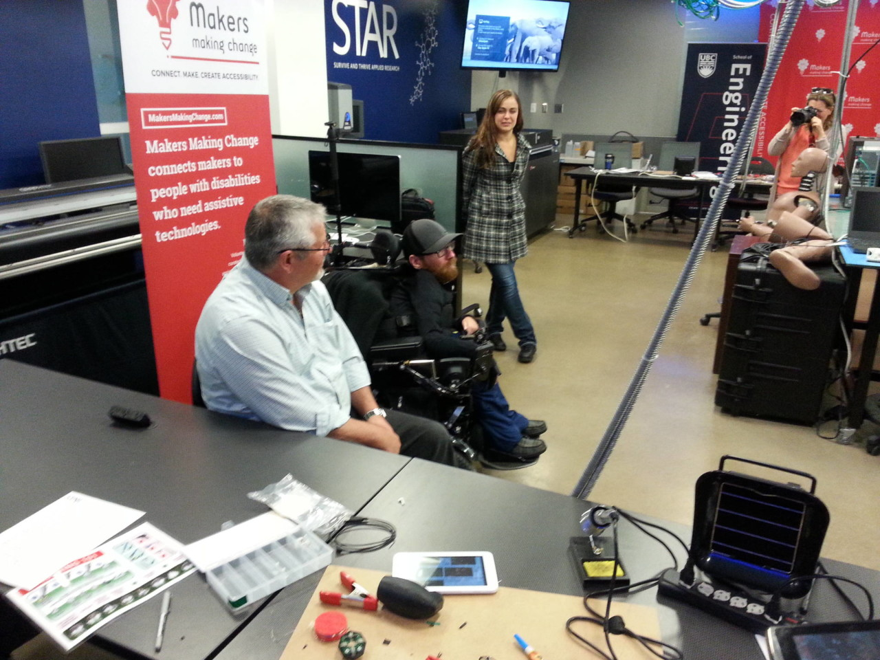 Ean Price in wheelchair shares how accessible technology including the Lipsync empowers people with disabilities