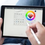 The Apple Pencil in action
