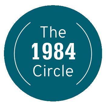 1984 Circle logo