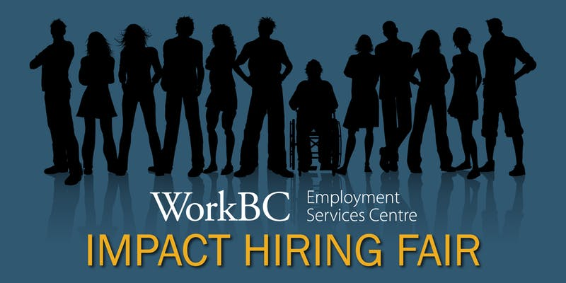 Impact Hiring Fair Poster