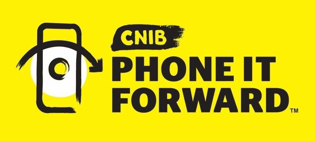 CNIB Phone it Forward logo