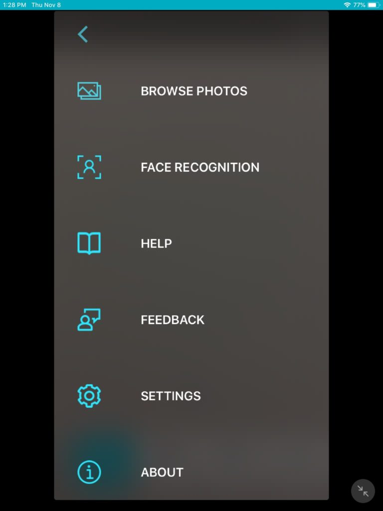 app camera functions and setting