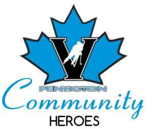 Penticton Vees Community Heroes logo