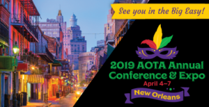 2019 AOTA Annual Conference Expo