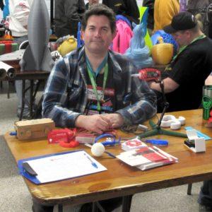 Stewart at the event (photo by Josh Bensadon)
