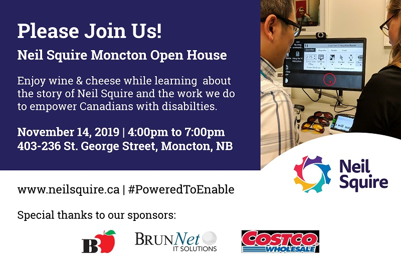 Moncton Open House Invitation
