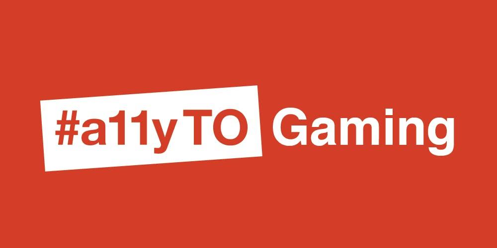 #a11yTO Gaming Logo