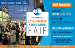 Entrepreneur Small Business Fair promo image