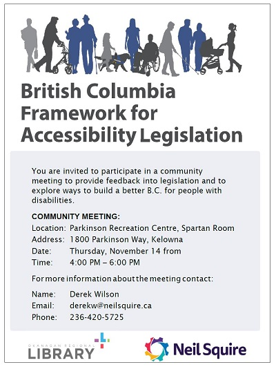 BC Framework for Accessibility Legislation