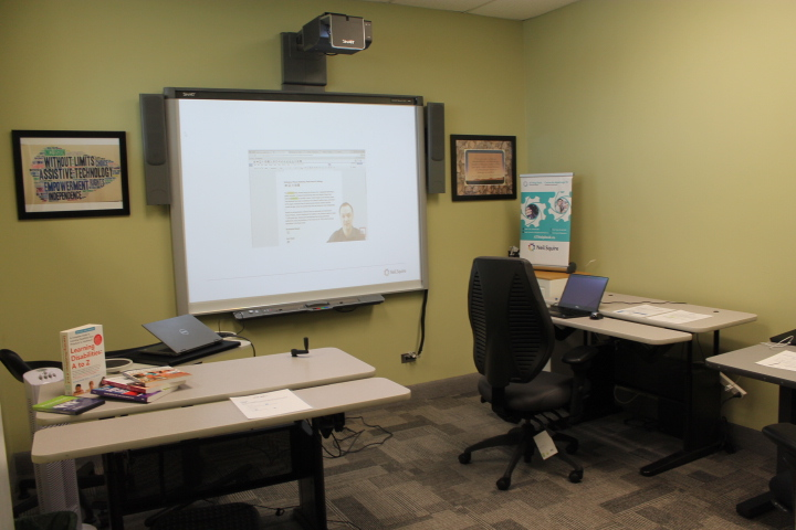 Presentation on projector