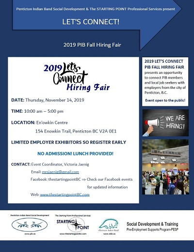 Let's Connect Hiring Fair Poster