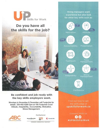 UpSkills for Work Poster