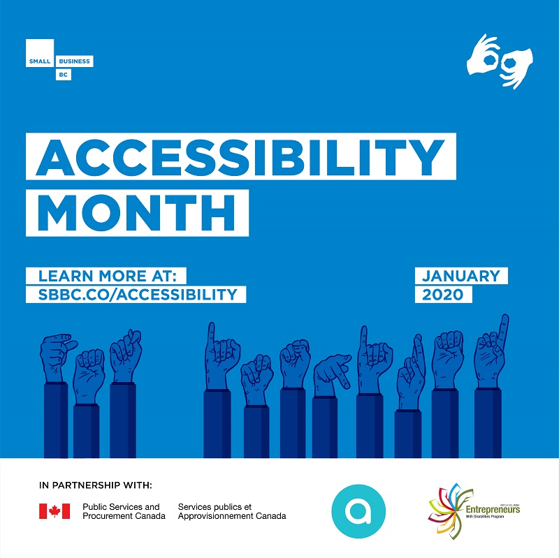 January is Accessibility Month