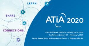 ATIA 2020 banner