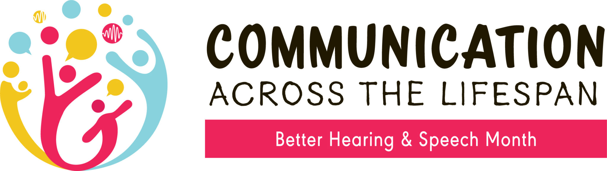 better speech and hearing month logo