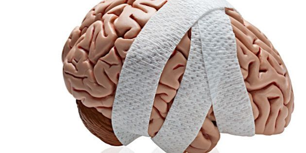 bandaged brain graphic