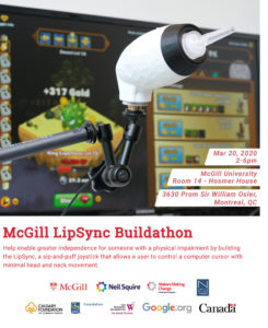 McGill Event poster