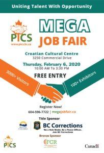 PICS Mega Job Fair poster