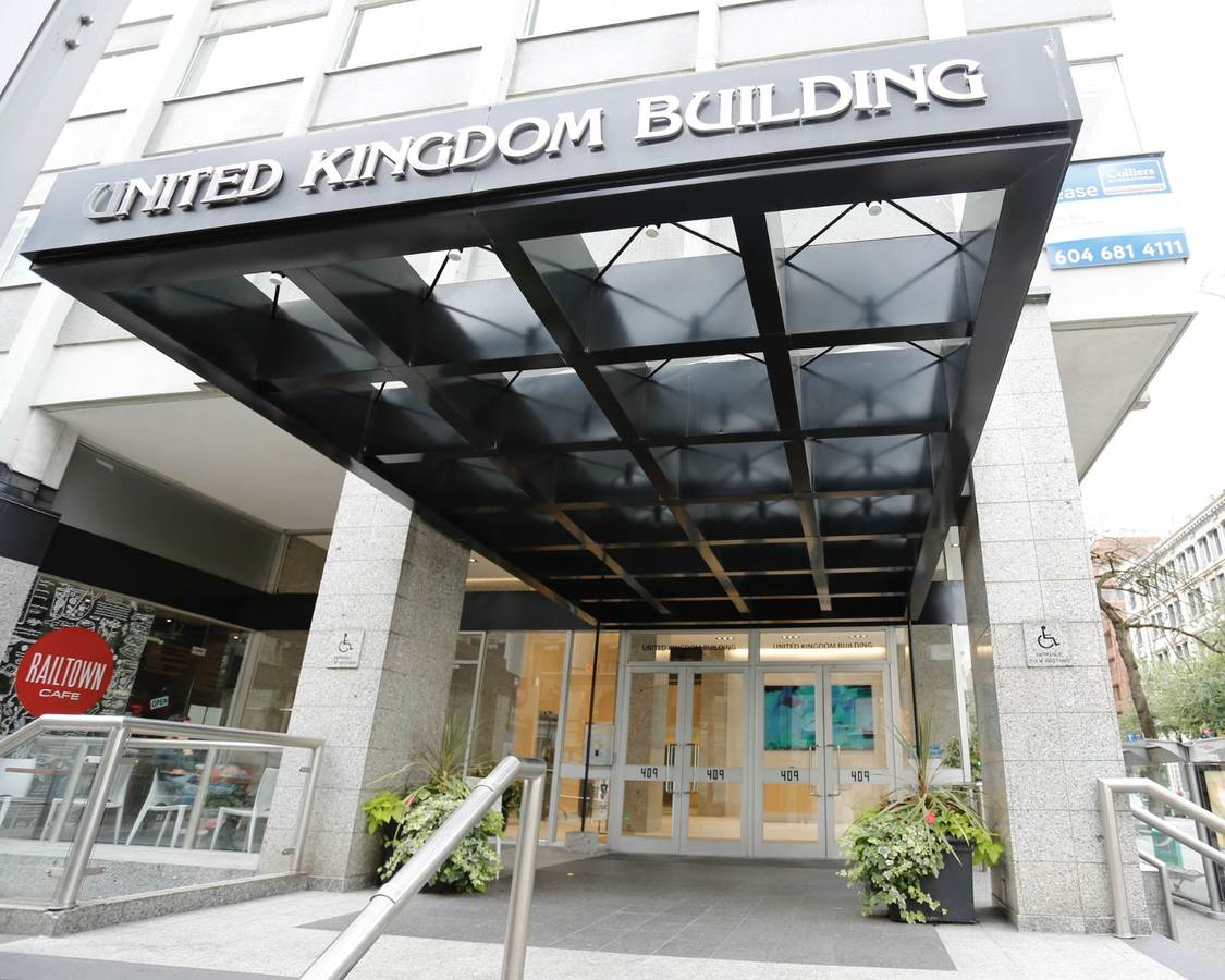 The United Kingdom Building in Vancouver