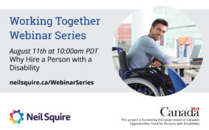 August 11th Why Hire a Person with a Disability