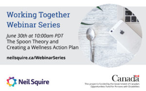 June 30th The Spoon Theory and Creating a Wellness Action Plan
