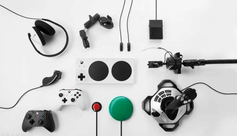 adaptive gaming setup