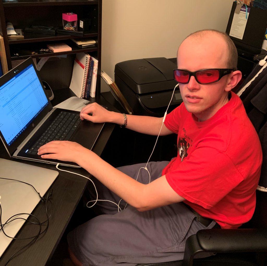 Distance Computer Comfort participant Palmer