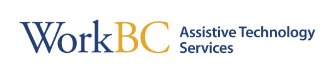Work BC Assistive Technology Services Logo