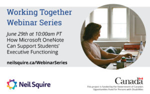 June 29th: How Microsoft One Note Can Support Students' Executive Functioning
